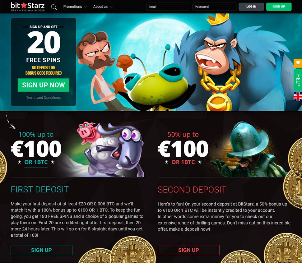 Bitstarz casino 20 zatočení zdarma