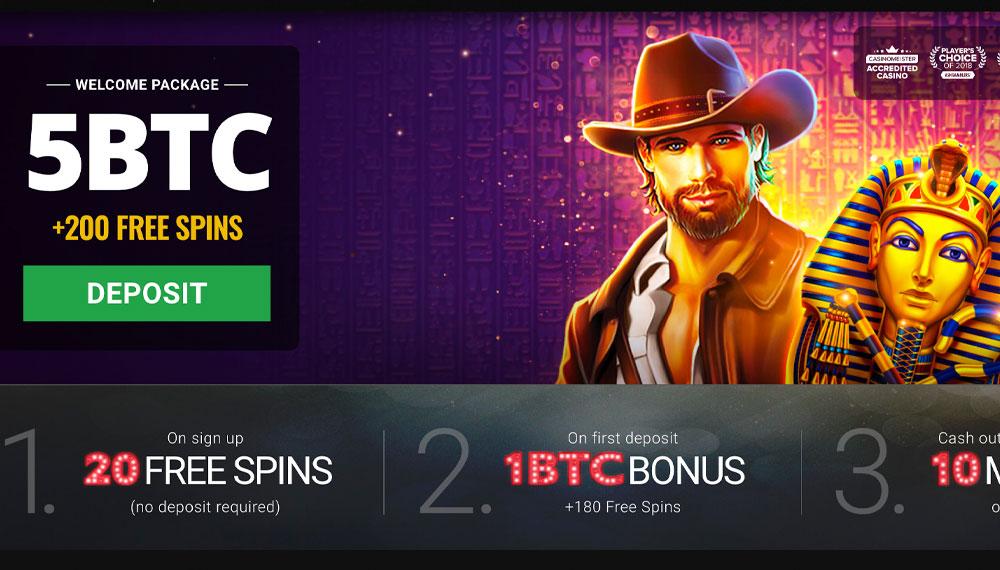 Cryptocurrency casino online