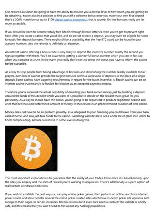 Bitcoin casino y loteria de la provincia de buenos aires